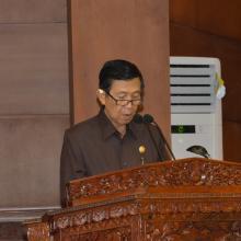Gubernur Bali Made Mangku Pastika