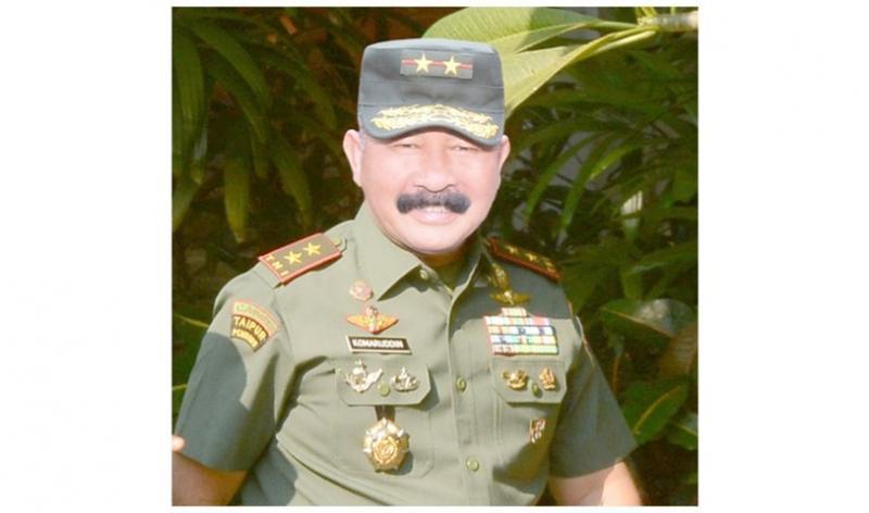 Mayjen TNI Komaruddin Simanjuntak, SIP., MSc.