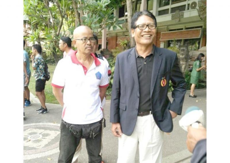 Ketut Suwandi (kanan) dan Wayan Suata