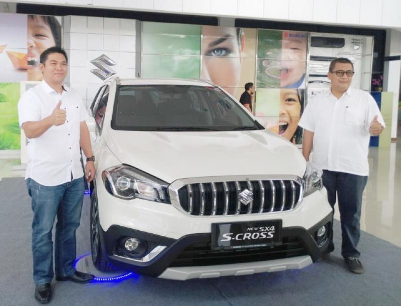 New SX4 S-Cross.
