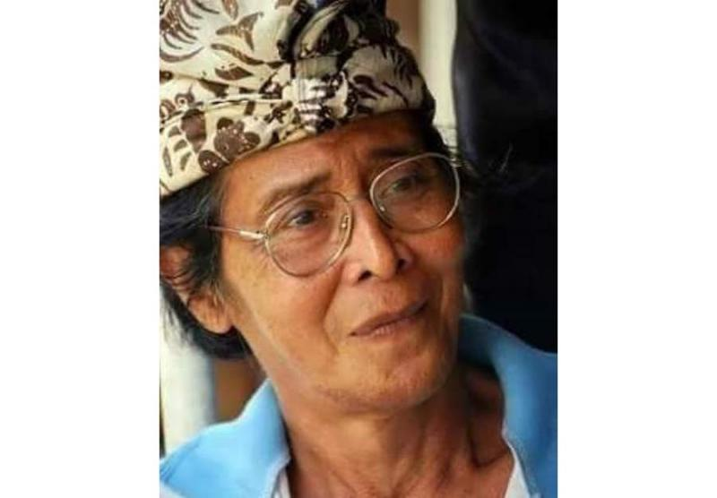 Almarhum Nyoman Mandra.