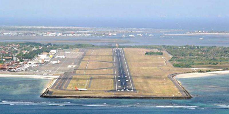 bandara di tutup