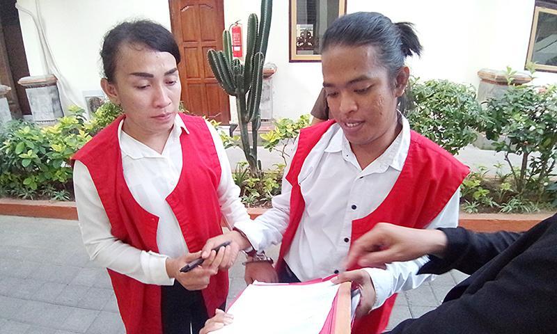 Edarkan Sabu, Trio Waria Divonis Sembilan Tahun Penjara