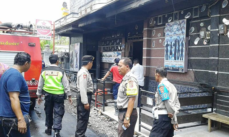 Kafe Radja's Seririt Terbakar