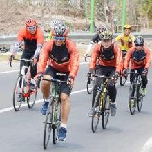 Tim Gowes Kodam Jajal Rute Road Bike Mandalika Gowes 2019