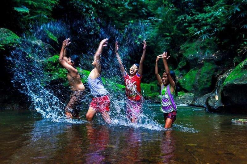 Air Terjun Goa Giri Campuhan Destinasi Baru Di Bangli Bali
