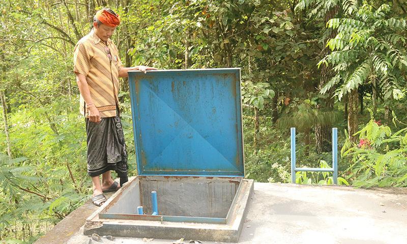 Duh, Reservoir di Desa Nawakerti Mangkrak