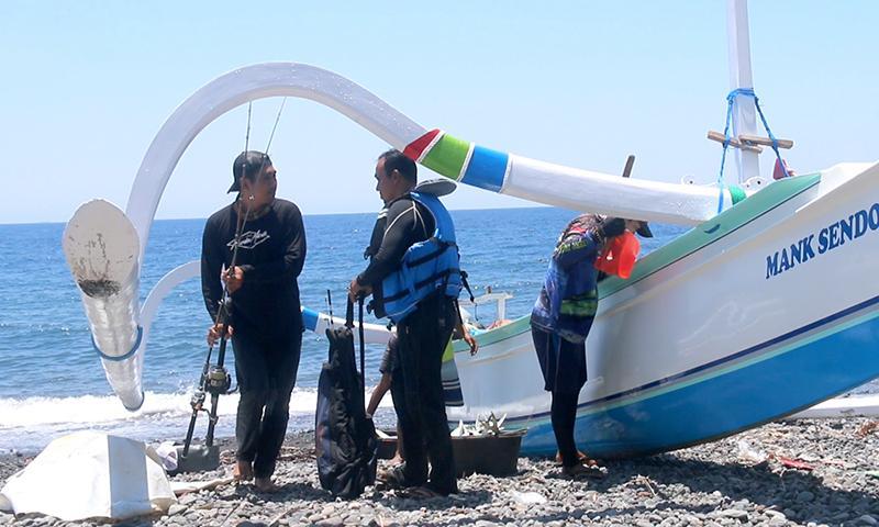 Wisata Bahari Tianyar Barat Mulai Dilirik Wisatawan