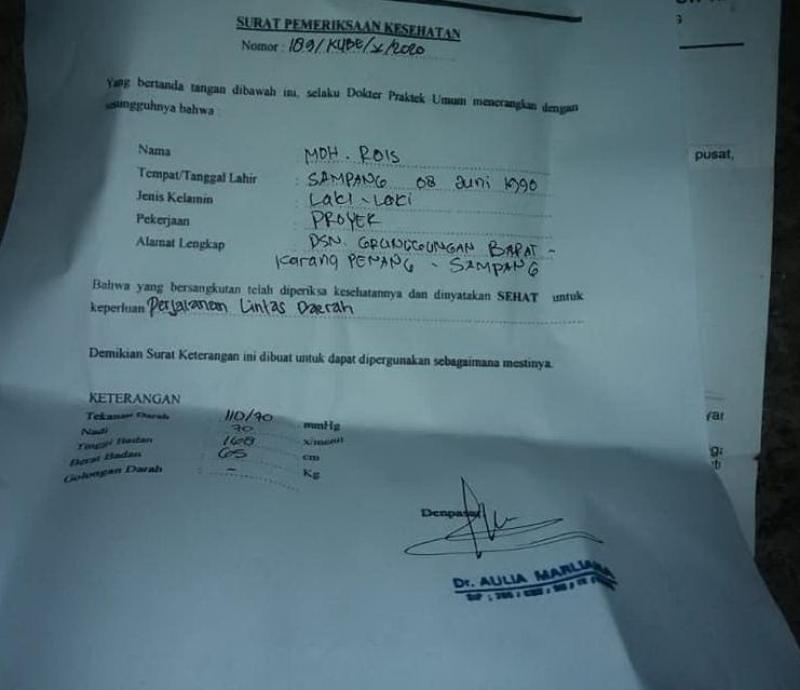 Jual Suket Rapid Tes Palsu Dua Orang Diciduk Polisi Bali Tribune